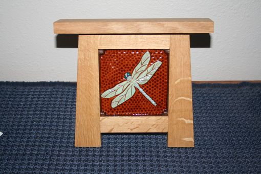 Custom Made Mission Style Ceramic Tile Holder