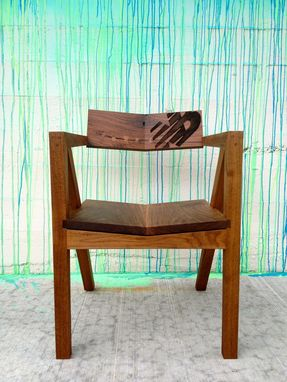Custom Made Modern Arm Chair