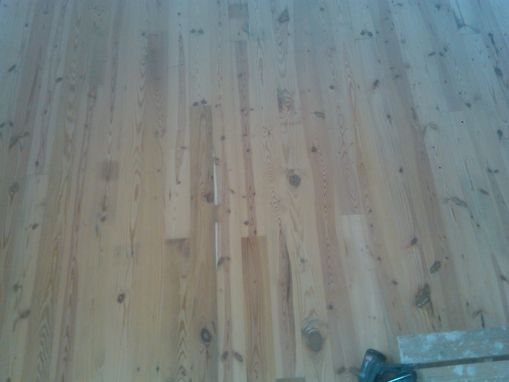 Custom Made 120 Year Old Pine Flooring