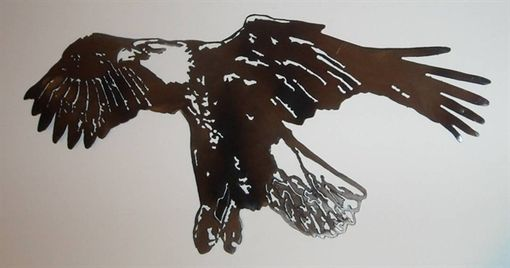 Custom Made Eagle Metal Wall Art