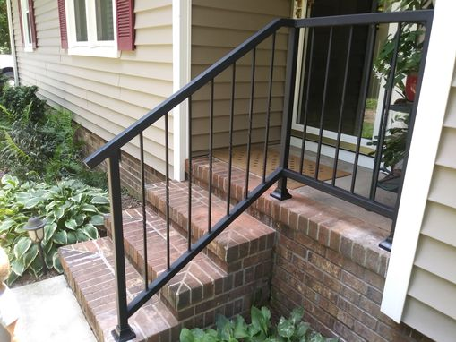 Custom Made Entrance Railing
