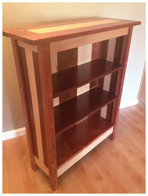 Custom Made Pretty Bookshelf