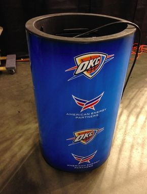 Custom Made Oklahoma City Thunder Fog Canisters