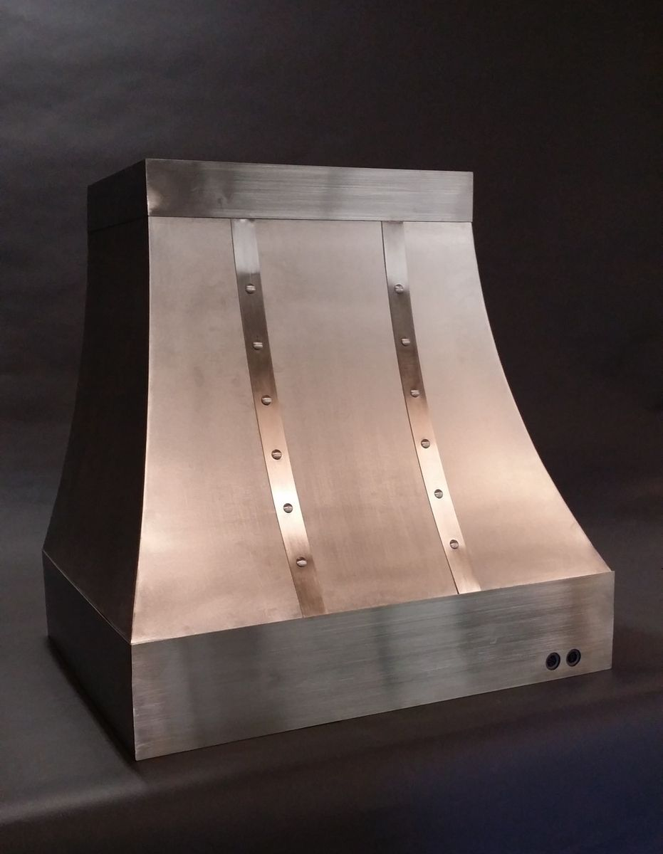 Buy a Hand Made The Cynthia - Stainless Steel Range Hood, made to ...