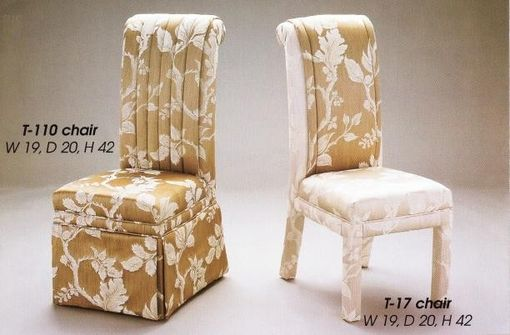 Custom Made Dining Room Chairs