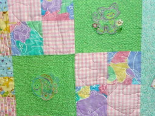 Custom Made Custom Baby Memory  Blanket