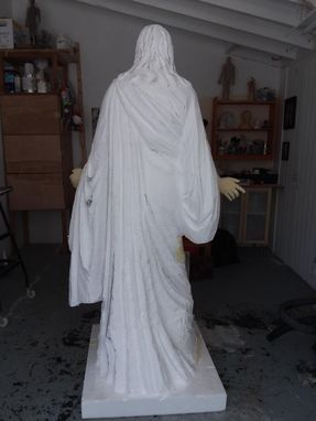 Custom Made 6 Feet Tall Jesus Sculpture