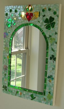 Custom Made Irish Mosaic Mirror