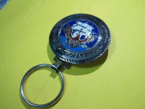 Custom Made Marines, Army, Navy Key Rings