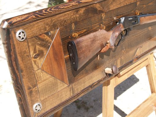 Custom Made Gun Rack