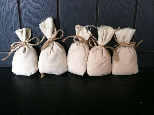 Custom Made Sachet, Set Of 5, Texas Cedar Filled Sachet