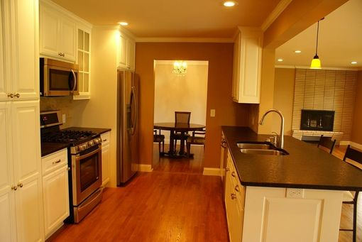 Custom Made Enameled Kitchen