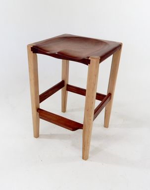 Custom Made Backless Counter Stool