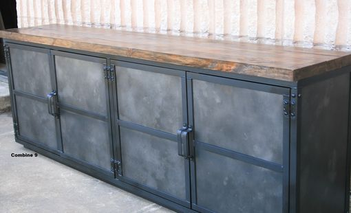 Sideboard Industrial buy a crafted industrial credenza media console reclaimed