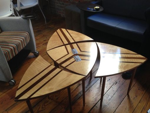 Custom Made Trifecta Coffee Tables