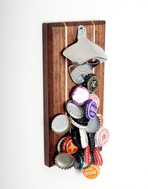 Custom Made Magnetic Bottle Opener - The Captivator