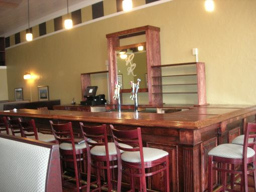 Custom Made 16ft Oakbar And Backbar