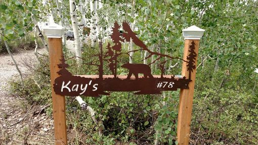 Custom Made Cabin Sign