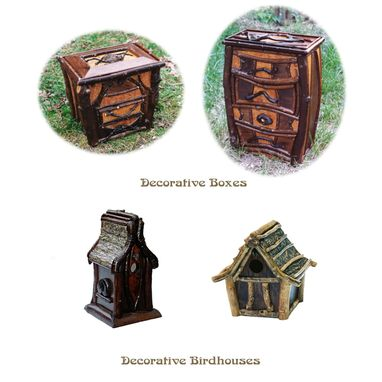 Custom Made Decorative Birdhouse