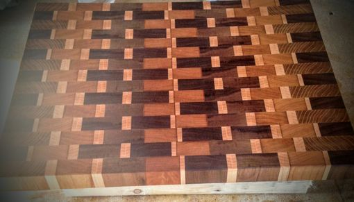 Custom Made Custom Wood Design Cutting Board