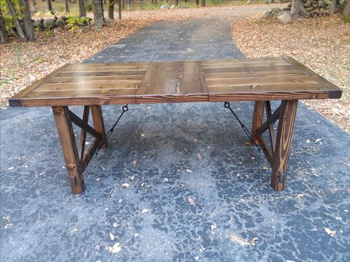 Custom Made Expandable Farmhouse Dining Table