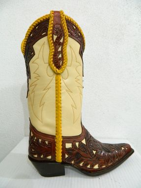Custom Made Hand Tooled Made Order Boots Any Size Men Or Woman Choose Style From Galery