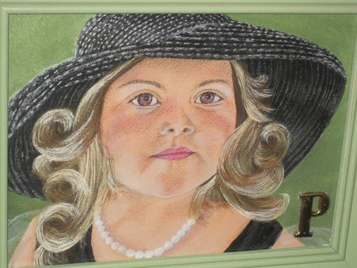 Custom Made Child Portrait - Pencil Crayon