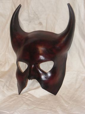 Custom Made Leather Mask