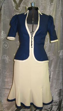 Custom Made 1940s Skirt Suit