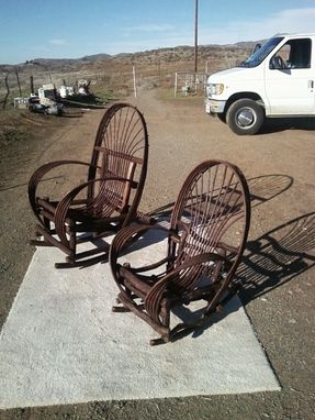 Custom Made Bent Twig Willow Furniture Chairs & Rockers