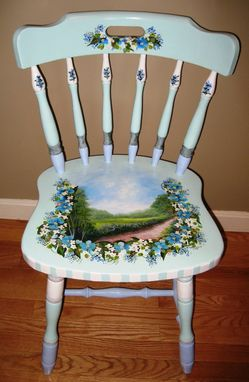 Custom Made Custom Acrylic Painting On Your Furniture