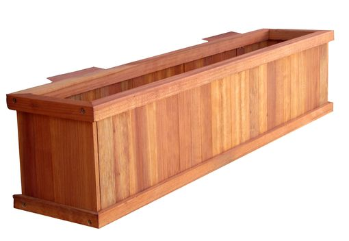 Custom Made Redwoood Planter Boxes