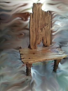 Custom Made Kid's Rustic Chair