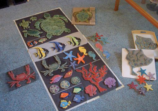 Custom Made Sealife Mosaics