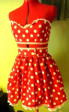 Custom Made Diy Dress Kit For Custom Made To Measure Red Pinup Suit