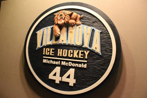 Custom Made Custom Wood Signs | Sports Signs | Hockey Signs | Football Signs | Basketball Signs | College Signs