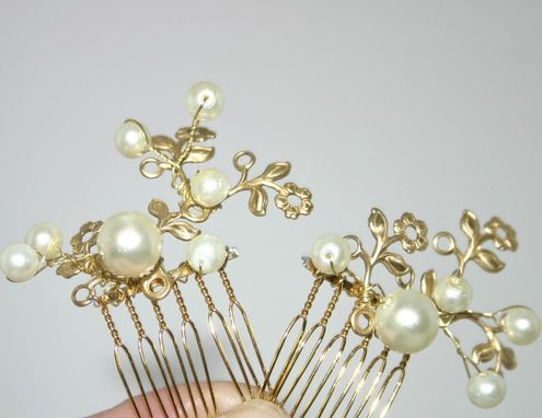 Custom Made Golden One, Little Hair Combs