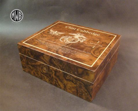 Custom Made Custom Inlaid Humidor