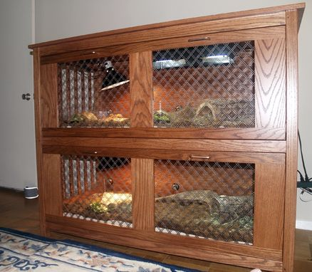 Custom Made Custom Turtle Cage