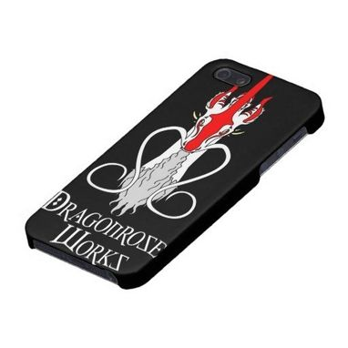Custom Made Dragonrose Works Iphone Case