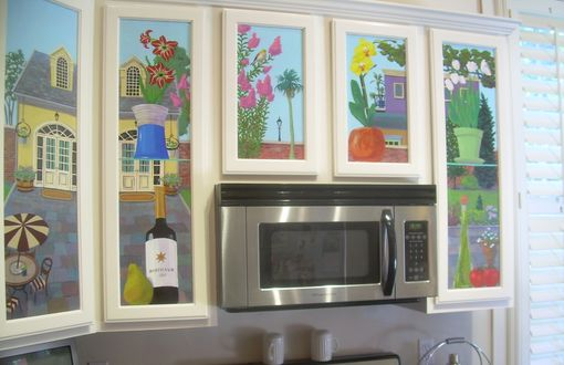 Custom Made Kitchen Cabinet Specialty Painting Project