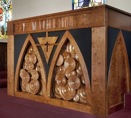 Custom Made Church Organ Facade