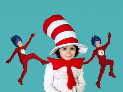Custom Made Dr. Seuss, Cat In The Hat