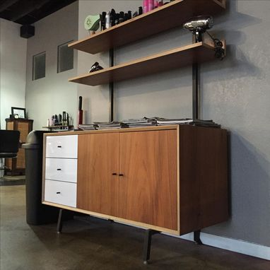 Custom Made Mid Century Modern Media/Storage Unit
