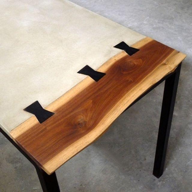 Piper Concrete Desk By Pete