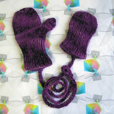 Custom Made Mittens For Little Girl Born With Just One Hand