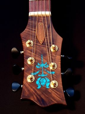 Custom Made Fan-Fret Jumbo Guitar