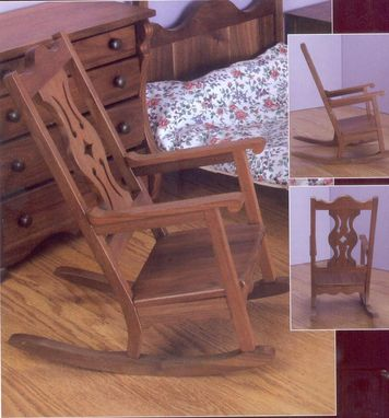 "Custom Made Rocker To Fit All 18"" Dolls"