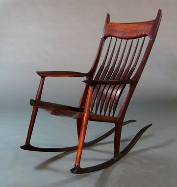 Custom Made Pauduk Maloof Inspired Rocking Chair
