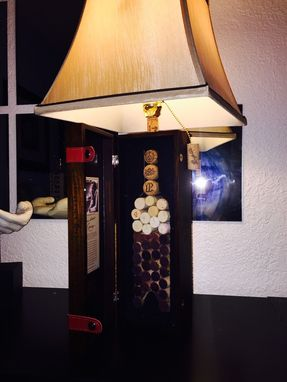 Custom Made Table Lamp Penfolds Grange Bin 95 Theme